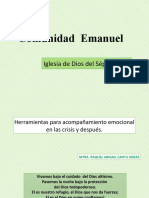 I. EN CRISIS-Comunidad  Emanuel