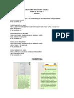 INFORMES SEMANAL DE GRADO