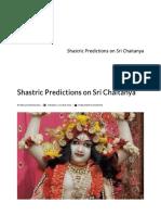 Shastric Predictions on Sri Chaitanya.pdf