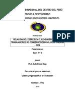 Modelo de Plan de Tesis UNCP