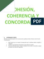 COHESION-CONCORDANCIA Y COHERENCIA