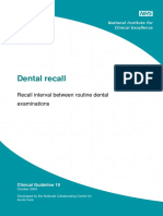 Dental_recall_,Recall_interval_between_routine_dental_examinations