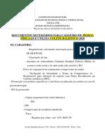 DOCUMENTOS PESSOA FÍSICA COLETE.