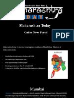 Maharashtra Today _ Online News Portal ( Anish Ppt for - Mumbai City )