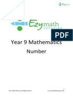 Year 9 Maths - Number - Questions (Ch1)