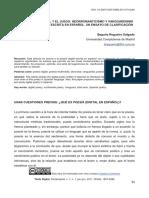 Clasifcación de la poesía digital en español