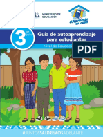 3er Grado Primaria-Guía de Autoaprendizaje MINEDUC Guatemala
