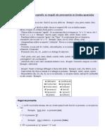 Accentul Ortografic Si Reguli de Pronuntie in Limba Spaniola Cap.1