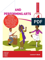 Visual and Performing Arts  Textbook Grade 4 New Curr - Copy
