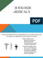 Sociologie Medicală