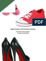 Msc International Industry Analysis Footwear Industry I Jose Freire