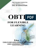 OBTL for Flexilble Learning