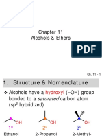 ethers alcohol ch11