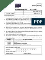 MOT 1 NEET 2021 Paper vmc.pdf