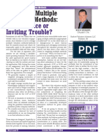 Averaging Multiple Valuation Methods - Best Practice or Inviting Trouble (Rod Berkert, 2014)