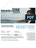 Hrant Dink Gedenken Jan. 2011 FLYER