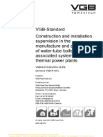 VGB-S-013!00!2014-12-En_ Construction and Installation Supervision in the Manufacture and Assembly of Water-tube Boilers and Associated Systems in The