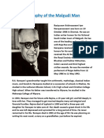 Biography of R.K.Narayana