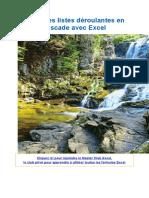 Créer des listes déroulantes en cascade avec Excel.docx