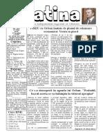 Datina - 15.07.2020 - prima pagină