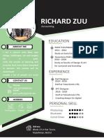 Simple Green Resume-WPS Office