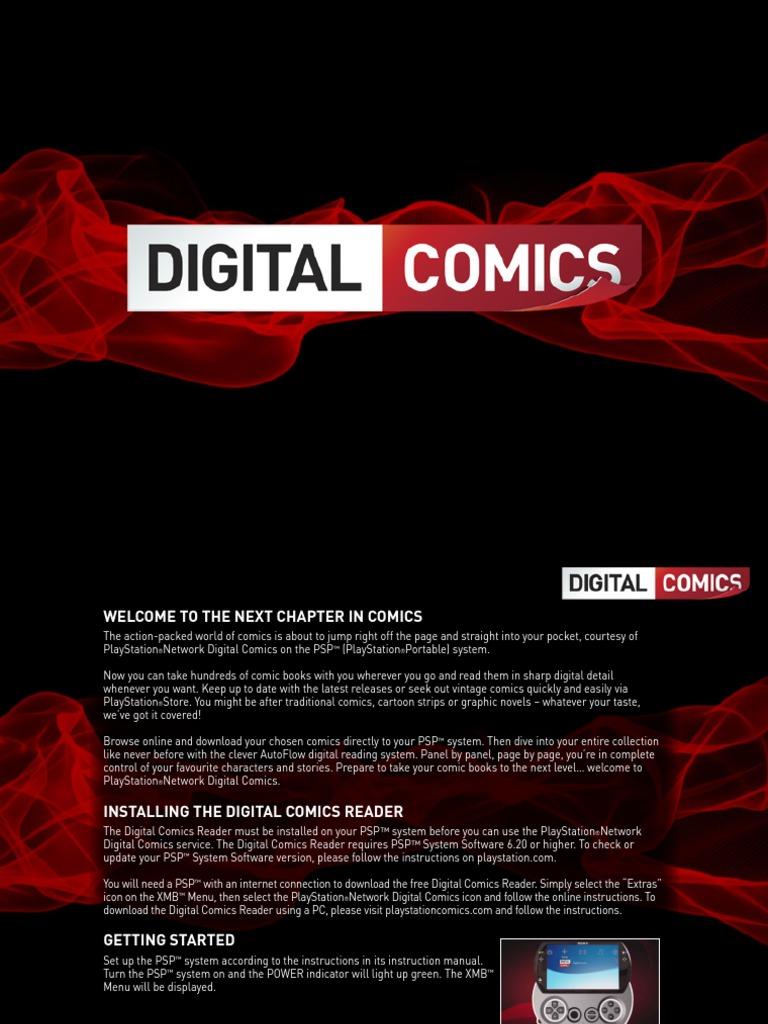 Digital Comics OL Manual v2 | Play Station | Software