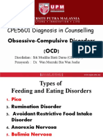 EATING AND FEEDING DISORDER LATEST