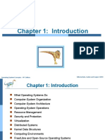 Chapter 1 Introduction to Operating System Concepts