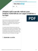 ¿Cómo aprender matemáticas de forma fácil y rápida_.pdf