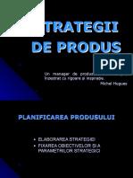 curs 9 Strategii de produs