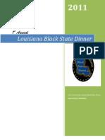 2011 Louisiana Black State Dinner Sponsorship Packet