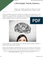 Constructivismo (Psicología)_ Teorías, Autores y Aplicaciones