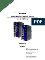 User Manual Igs-3044gp Gc v1.3