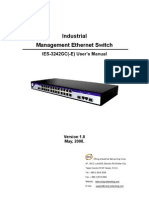 User Manual_IES 3242GC( E) Series