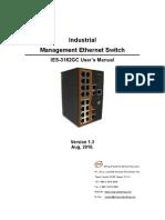 User Manual IES-3162GC