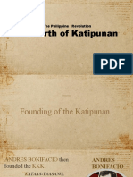 Chapter 6 The Reform Movement and the Katipunan