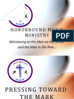 HonorBound Men's Ministry PPT