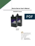 User Manual IDS-5611F