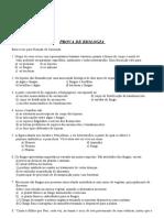 PROVA DE BIO PATY VIRUS