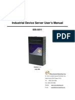 User Manual IDS-5011