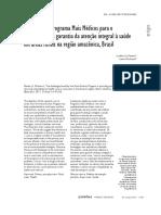 Artigo - Desafios do PMM na Amazonia rural