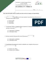 Ficha de Trabalho avaliativa n.º 2 - Módulo 11_ITM
