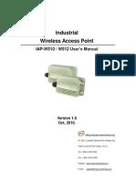 User Manual IAP-W510 W512