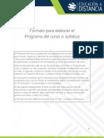 MANUEL ANTONIO QUIÑONES GUZMAN Act 4.2 Syllabus