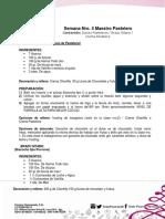 Maestro Pastelero Clase Nº 4 MODIFICADA EL 03-02-18