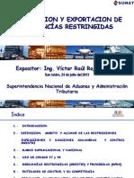 Import y Export MREST y MPRO