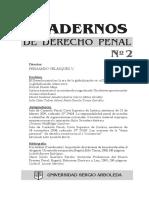 Universidad Sergio Arboleda - Cuadernos De Derecho Penal 02