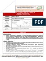 Informe de práctica 2 - Introducción, historia clínica