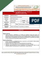 Informe de práctica 3 - Enfermedades metabólicas y embarazo.