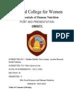 obesity FOHN